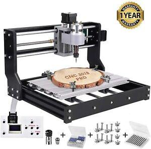 CNC 3018 Pro Router Laser Engraving Machine Kit w/ Offline GRBL Control DIY Wood