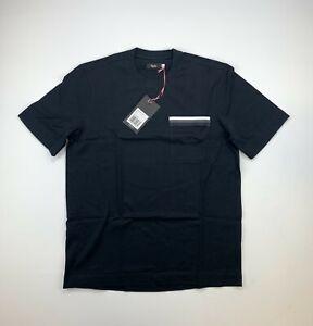 RAPHA Logo Pocket Tee Shirt Black Size Small New