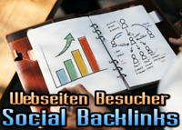 50 Social Backlinks + 10.000 Webseiten Besucher für Ihre Webseite - SEO Werbung
