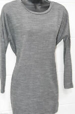 Atmosphere 3/4 Sleeve Crew Neck Hip Length Women's Tops & Shirts