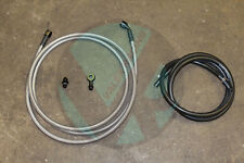 92-95 Civic 4dr Sedan Replacement Stainless Steel Fuel Feed Line & Rubber Return