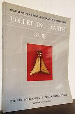 Bollettino d'Arte 37-38 maggio agosto 1986
