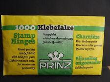 Prinz Stamp Hinges - Pack of 1000 uk seller