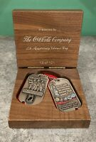 2014 Coca-Cola Veterans Day RARE Challenge Coin VIP Box Set! Numbered to 101!