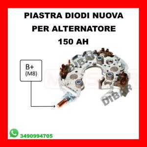 PIASTRA DIODI ALTERNATORE 150AH FORD FIESTA-FOCUS-KUGA 1.6-2.0 TDCI DAL 2003 1