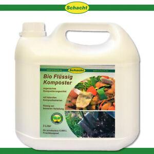 Schacht 3L Bio Flüssig-Komposter Gartenabfälle Umwandlung Mikroorganismen