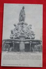 NIMES FONTAINE PRADIER 1904 GARD LANGUEDOC ROUSSILLON