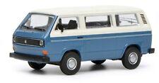 Schuco 1/64 Volkswagen T3 Bus blue white 452017200