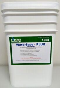 Dam Sealer -  Water Save Plug 18kg - Sealant locates leak & stops it. DIY Fix