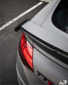 AUDI TTRS TT RS 8S FACELIFT PERFORMANCE REAR WING EXTENSION GURNEY FLAP