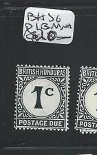 BRITISH HONDURAS (P1508B) 1C POSTAGE DUE SGD1B  MNH