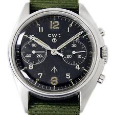 CWC Military Chronograph RAF Men's Vintage D Shape Wrist Watch