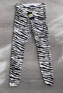 Nike NSW Women Essentials Tight Fit Legging Zebra Print Pant CV8597-100 Sz XS