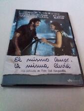 "DVD ""EL MISMO AMOR LA MISMA LLUVIA"" RICARDO DARIN JUAN JOSE CAMPANELLA"
