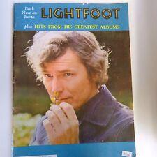 Cancionero Lightfoot de vuelta a la Tierra, 1969