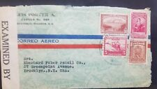 L) 1950 ECUADOR, SOCIAL SECURITY OF THE CAMPAIGNIAN AND COURIER HOUSE OF