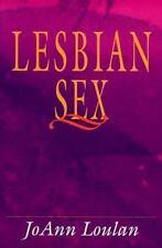 Lesbian Sex, Loulan, Joann, New Book