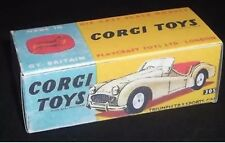 Corgi 305 Triumph TR3 Sports Car Empty Repro Box