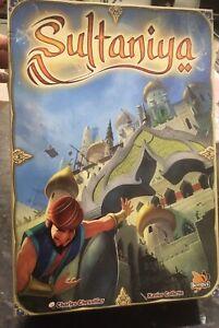 Sultaniya - Aladdin, Sinbad, Build A Persian City, Bombyx Vintage Board Game.