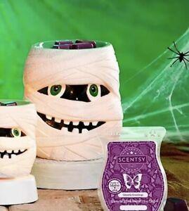 Scentsy Under Wraps Mummy Halloween FULL SIZE Wall Plug-In Wax Warmer - New 💀🎃