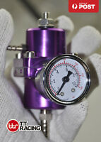 RISING RATE FUEL PRESSURE REGULATOR FIT NISSAN HOLDEN FORD TOYOTA PURPLE