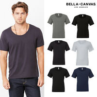 Bella + Canvas Unisex Wide Neck T-Shirt 3406
