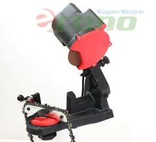 4800RPM Electric Chainsaw Chain Saw Sharpener Grinder W/ Work Bench Mount Shop