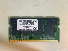 1GB DDR PC333 MDT SODIMM Ram Arbeitsspeicher Toshiba SM30-344 SPM30