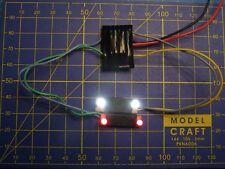 Kit-A LED bi-colore choix éclairage inversé loco Analogique / Num 12V/16V JOUEF