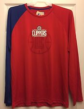 Los Angeles Clippers NBA Exclusive Collection Long Sleeve DryFit TShirt Size 2XL