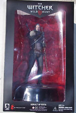 WITCHER III THE WILD HUNT. GERALT OF RIVIA FIGURE. 8 INCHES. NEW IN BOX.