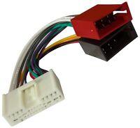 Adaptateur faisceau câble ISO autoradio pour Mazda Demio MPV MX-5 Miata RX-8