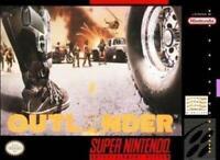 Outlander Super Nintendo Game SNES Used