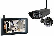 """SMARTWARES Real-time Digital Camera System with 9"""" Touch Panel Wireless RRP £425"""