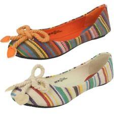 Scarpe in tela beige da infilare per bambine dai 2 ai 16 anni