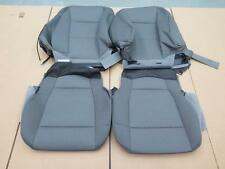 2015 2016 Ford F150 XLT truck OEM front seat cover set Med Earth Gray cloth