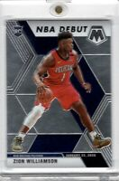 2019-20 Panini Mosaic #269 Zion Williamson NBA Debut RC Rookie Chrome  Pelicans