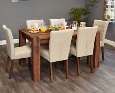 Baumhaus Walnut 150cm Dining Table (4/6 Seater)