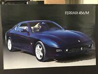 Vintage Poster Ferrari 456/M Cinisello Balsamo 1998 Made in Italy Nuova Arti