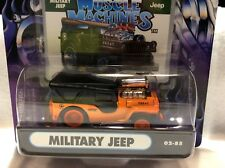 MUSCLE MACHINES  MILITARY JEEP VEHICLE   BLOWER 1/64 SCALE  --  JEEP