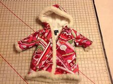 The Childrens Place Coat Hooded Winter Coat Kids Size 18M Girls Long Jacket