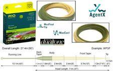 RIO Trout LT Line Weight Forward 2wt WF2F NIB Float MaxFloat Tip Beige/Sage