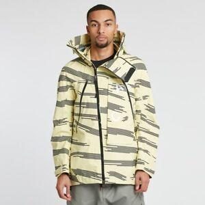 Nike NikeLab ACG Alpine Gore-Tex Jacket Coat Yellow Black White 924075-309