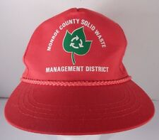 MONROE COUNTY SOLID WASTE MANAGEMENT DISTRICT TRUCKER HAT