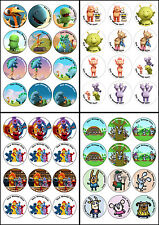QPOOTLE5,DINOPAWS,FURCHESTER HOTEL,BOJ,CUPCAKE TOPPERS,EDIBLE ICING SHEET,12X6CM