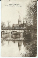 CPA 71- Paray-le-Monial - La Bourbince - Pont et basilique