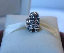 New w/Box Pandora RETIRED Sterling Silver Santa Charm #790852 Christmas