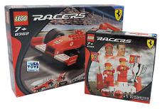 Lego Racers FERRARI 8389 M. Schumacher R. Barrichello + 8362 F1 RACER 1:24 MISB