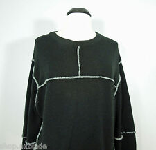URBAN BEHAVIOR Black Wool Men's Sweater size L