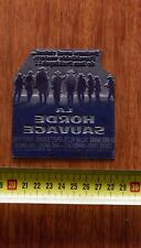 LA HORDE SAUVAGE Plaque d'imprimerie publicitaire SAM PECKINPAH, HOLDEN BORGNINE